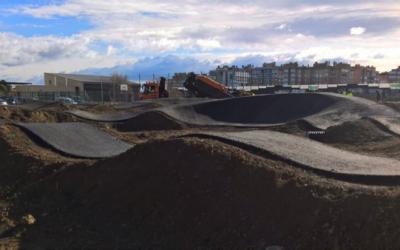 Nuevo circuito de pump-track en Zaragoza