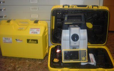 Grupo Grasa adquiere aparatos de topografía de última generación