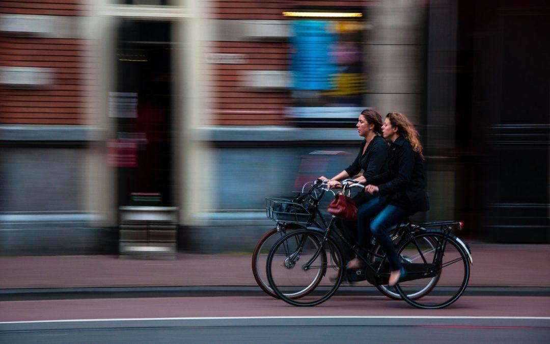 Holanda apuesta por los carriles bici de material reciclado
